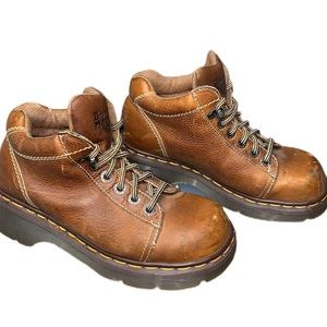Vintage Dr Martens workwear boots made in England